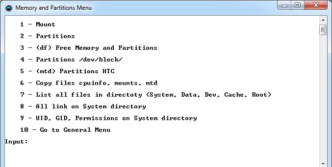 Memory and Partition