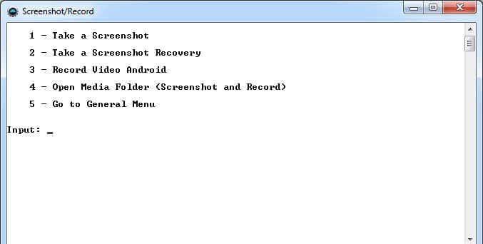 Инструмент Screenshoot/Record.