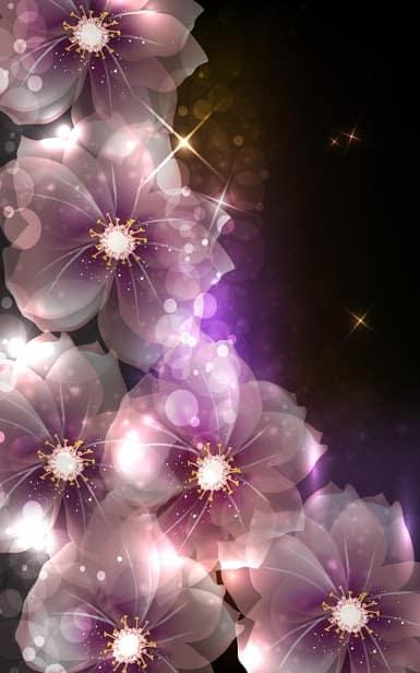 Светящиеся Цветы скриншот 1
