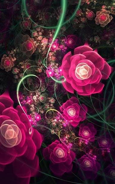 Светящиеся Цветы скриншот 4