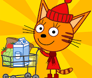 Три Кота Магазин Игра logo