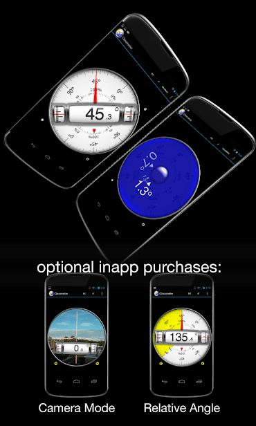 Clinometer + bubble level скриншот 1