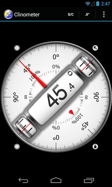 Clinometer + bubble level скриншот 2