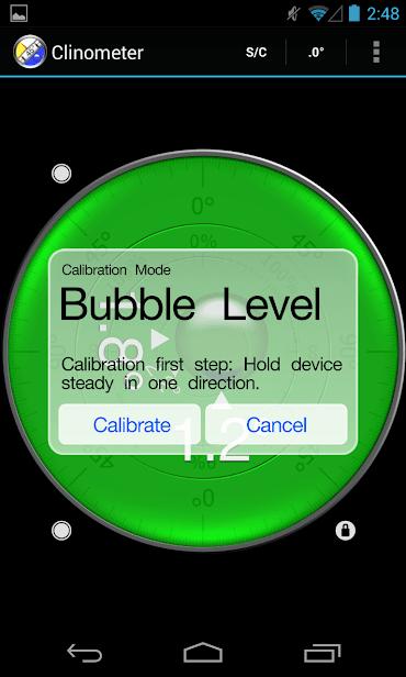Clinometer + bubble level скриншот 3