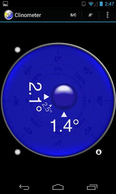 Clinometer + bubble level скриншот 4