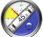 Clinometer + bubble level logo