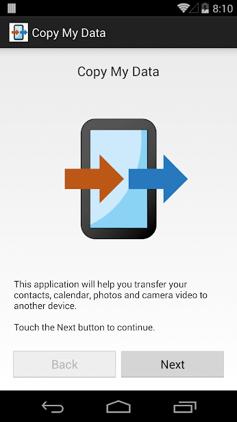 Copy my data скриншот 1