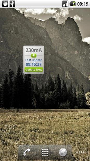 CurrentWidget: Battery Monitor скриншот 2