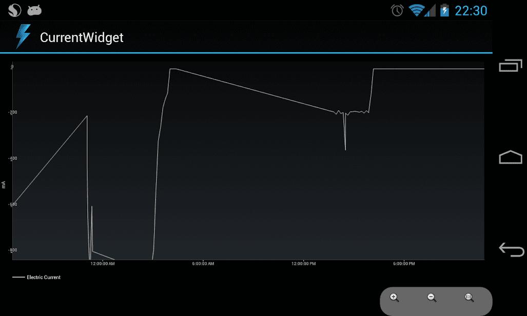 CurrentWidget: Battery Monitor скриншот 3