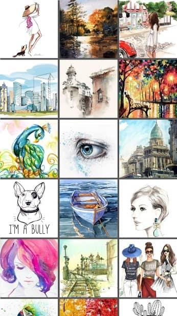 PaperDraw:Paint Draw Sketchbook скриншот 1