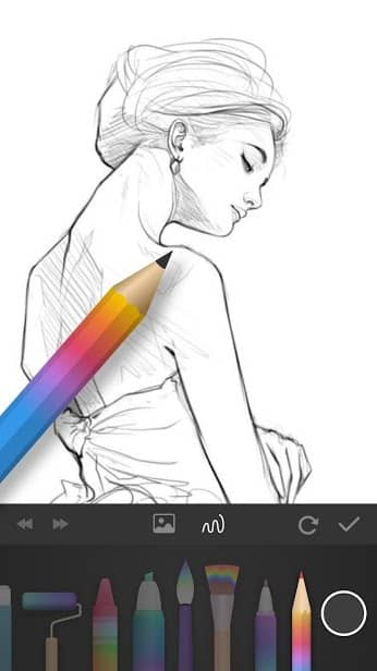 PaperDraw:Paint Draw Sketchbook скриншот 3