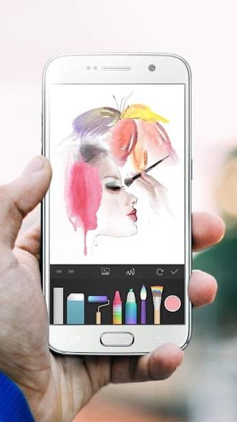 PaperDraw:Paint Draw Sketchbook скриншот 4
