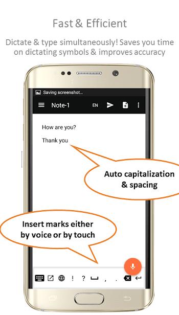 Speechnotes - Речь-в-Текст скриншот 2