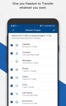 dr.fone - Switch iOS/iCloud contents to Android скриншот 3