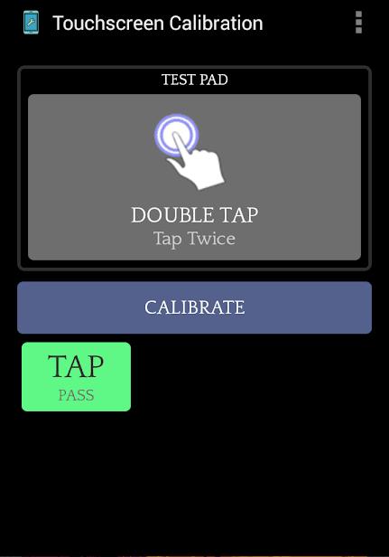 Touchscreen Calibration скриншот 3