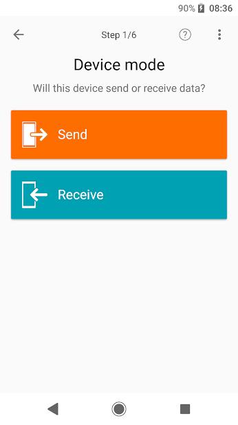 Xperia Transfer Mobile скриншот 3