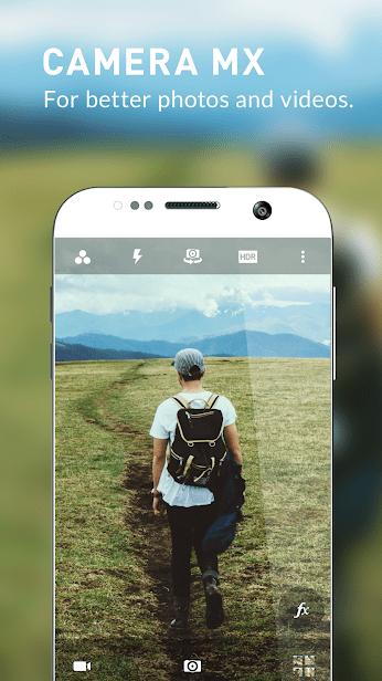 Camera MX – бесплатная фото и видео камера скриншот 1