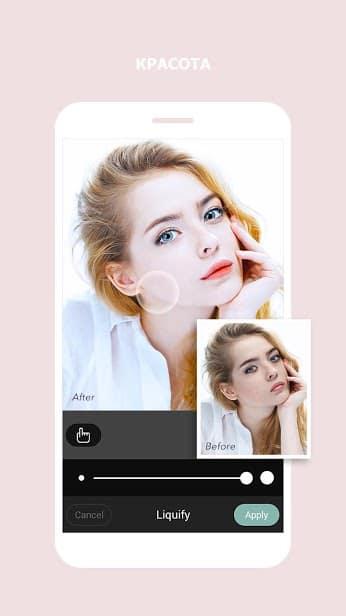 Cymera Camera - Photo Editor, редактор красивых скриншот 4