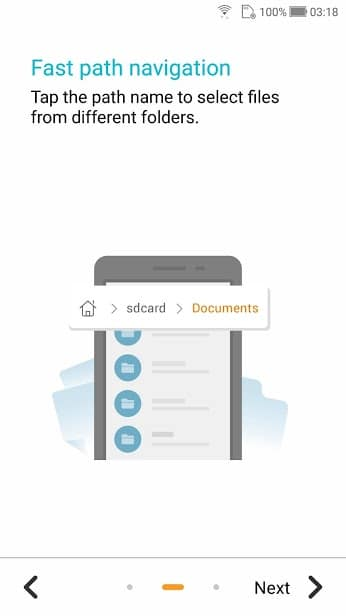 File Manager (File Explorer) скриншот 2