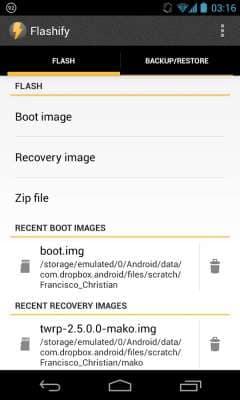 Flashify скриншот 1