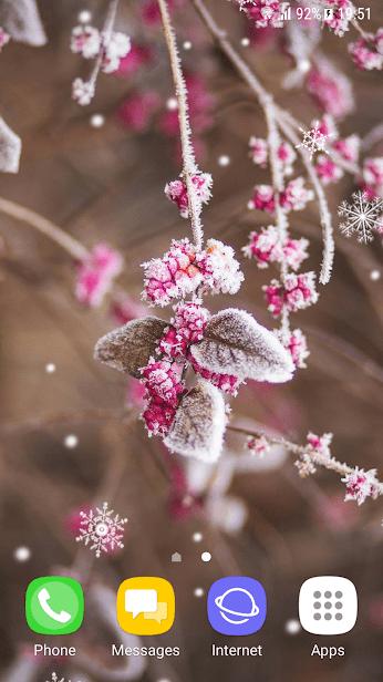 Красивые зимние скриншот 1
