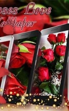 Красные Розы Любовь скриншот 1