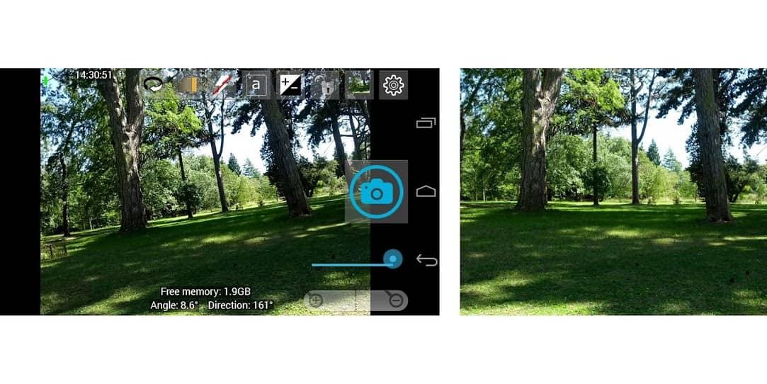 Open Camera скриншот 3