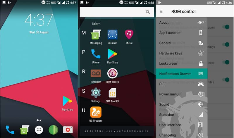 AOKP - Android Open Kang Project