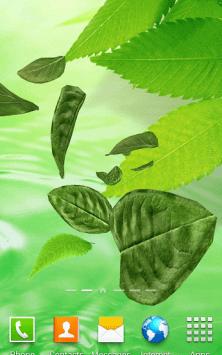 3D Листья скриншот 3