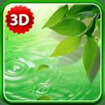 3D Листья живые обои