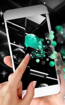 Tech Neon Glass Ball скриншот 1
