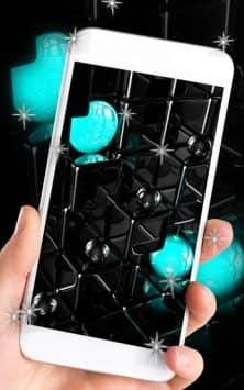 Tech Neon Glass Ball скриншот 2