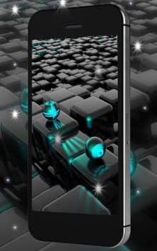 Tech Neon Glass Ball скриншот 3