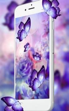3D Butterfly Flower скриншот 2