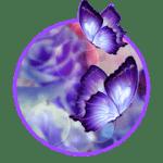 3D Butterfly Flower