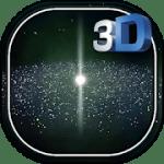 3D галактика живые обои