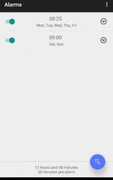Простой будильник Без рекламы скриншот 2