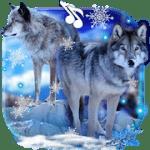 Волки Зима Live Wallpaper