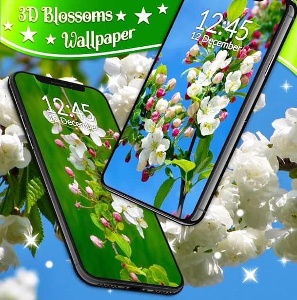3D Blossoms скриншот 1