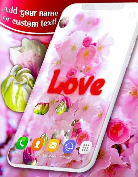 3D Blossoms скриншот 2