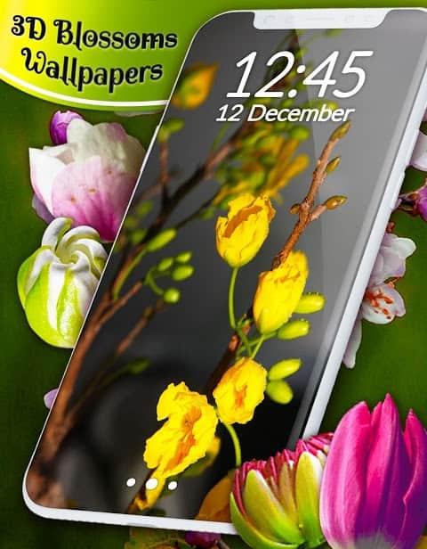 3D Blossoms скриншот 3