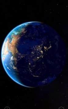 3D Земля и Луна скриншот 1