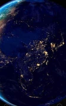 3D Земля и Луна скриншот 2