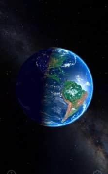 3D Земля и Луна скриншот 4