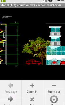 SchemataCAD viewer DWG/DXF скриншот 1