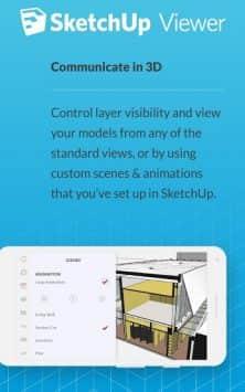 SketchUp Viewer скриншот 2