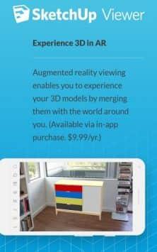 SketchUp Viewer скриншот 3