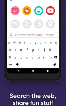 Fleksy клавиатура GIF + emoji скриншот 3