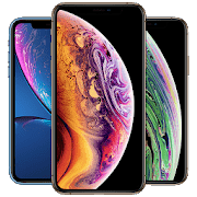 Wallpapers for iPhone Xs Xr Wallpaper Phone X max logo