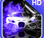 Неоновые Автомобили Обои HD logo